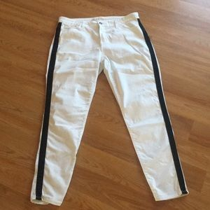 Boston proper white jeans sz 16